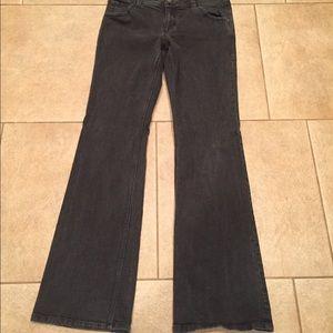 "Size 8 x 34"" CAbi Jeans- Black"