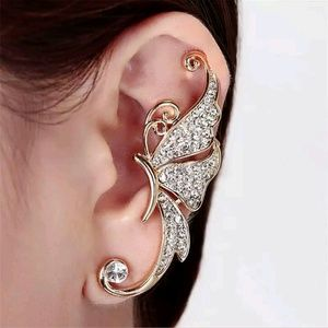 Jewelry - Gold Butterfly Clip-On Ear Cuff