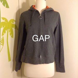 NWOT GAP Stretch Hoodie Jacket Size Medium