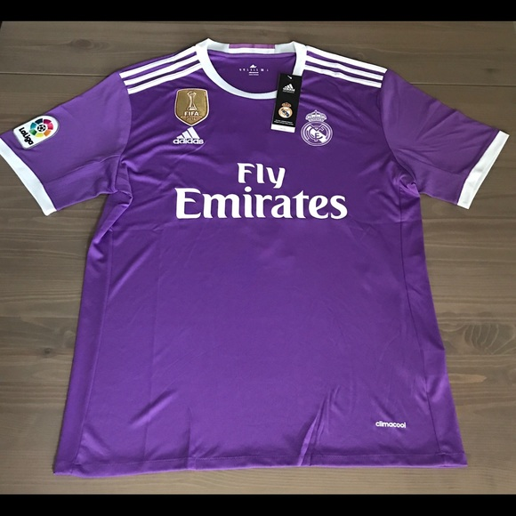 Real Madrid 16 17 purple Ronaldo  7 men soccer 4a60678f6