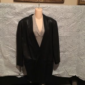 Maxima Jackets & Blazers - Vintage Maxima for Tannery West Leather Blazer