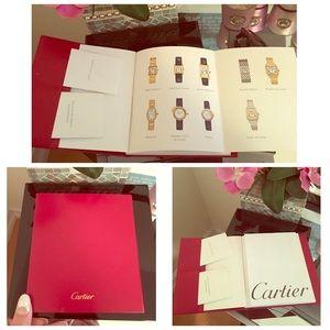 Cartier Jewelry - Cartier instruction manual (watch)