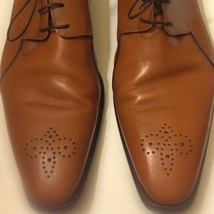 A. Testoni Shoes - A. Testoni Men's Caramel Leather Shoes