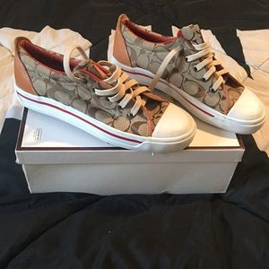 Never worn Coach Sneakers
