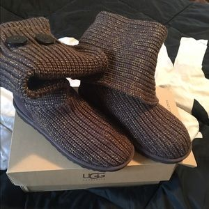Brown and Gold UGGS Brand New