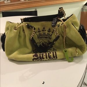 Juicy Couture Green pocketbook