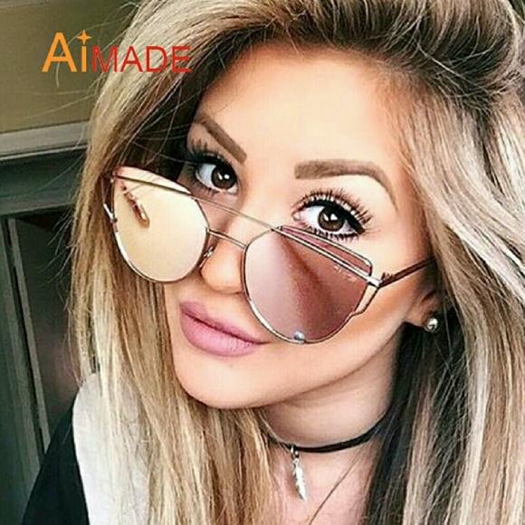 552f9f322c6b12 Accessories | New Cat Eye Sunglasses Women Fashion Twinbeams R ...