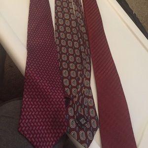Murano Other - 3 silk ties