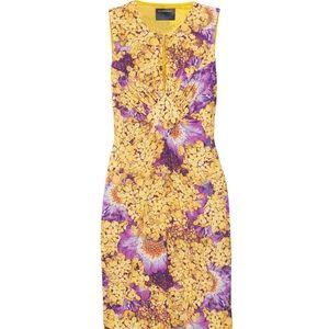 Class Roberto Cavalli Dresses & Skirts - Class Roberto Cavalli Floral Satin-Jersey Dress
