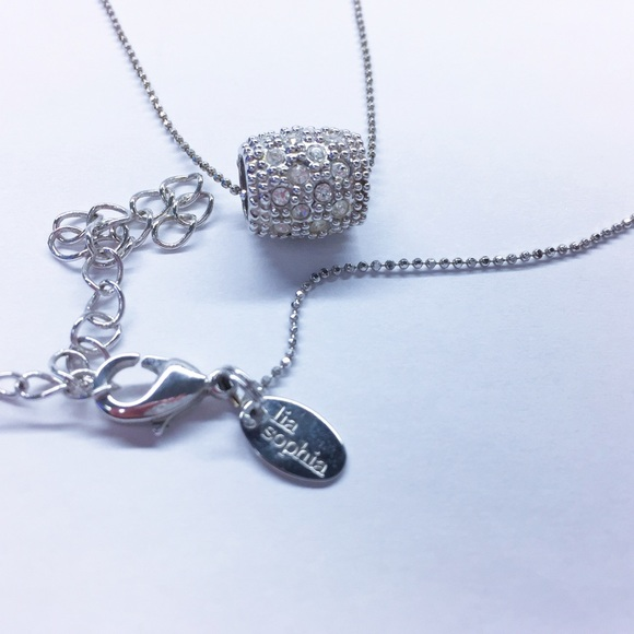 Lia sophia jewelry barrel necklace poshmark lia sophia barrel necklace aloadofball Choice Image