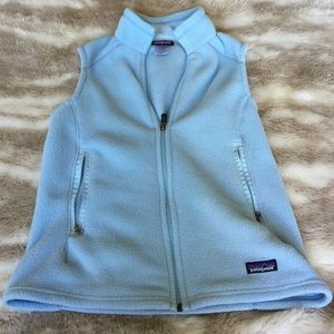 Patagonia Jackets & Blazers - Patagonia SyNchilla light blue vest