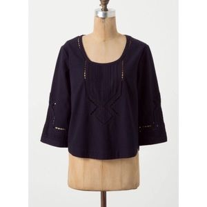 Anthropologie Tops - ❤SALE❤Anthropologie moulinette eyelet  blouse