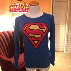 Sweaters - Bundle Superman sweater and superhero sweatshirt