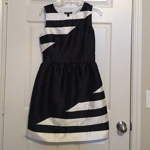 ivy + blue Dresses & Skirts - Black and White Striped Dress Size 4