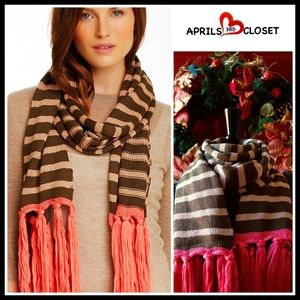 Sperry Accessories - Long Fringe Tassel SCARF