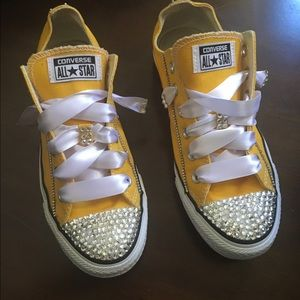 def80f957c90 Chuck Taylors Shoes - Blinged out Chuck Taylor