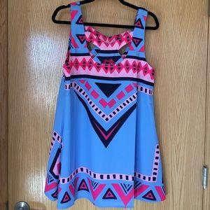 Sabo Skirt print dress