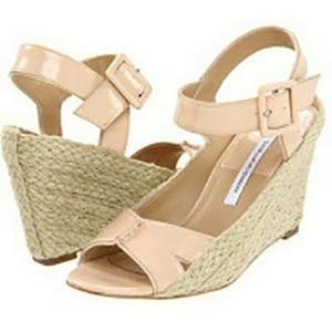 Diane von Furstenberg Shoes - Diane von furstenburg sudan espadrille wedge