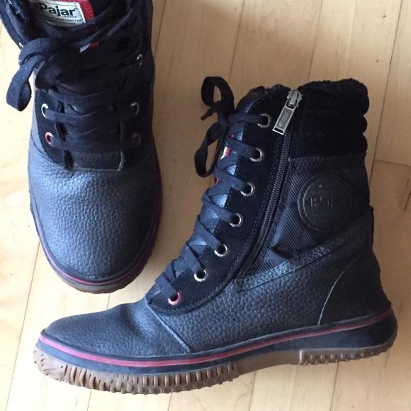 Pajar Tour Mens Leather Snow Boots Size