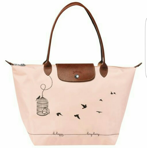 04e9b7c519 Longchamp Bags | Le Pliage Bird Cage Shoulder Tote | Poshmark