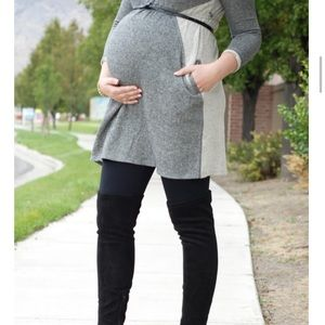Momo Maternity Dresses & Skirts - Momo Maternity Sweatshirt Dress