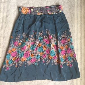 JOHNNY WAS size medium floral skirt