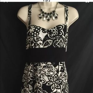 SL Fashions Dresses & Skirts - Black and While SL Fashions Size 16 Sundress