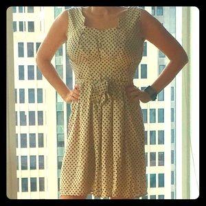 Stile Benetton Polka Dot Dress, Medium