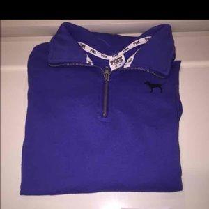 Victoria Secret PINK half zip sweater