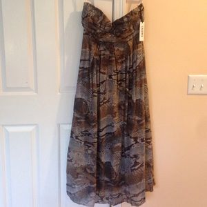 L'AGENCE Dresses & Skirts - MUST GO!! L'agence 8 python print gown open back