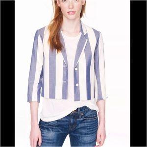 MAISON KITSUNE Jackets & Blazers - NEW maison kitsune stripe crop blazer JCrew coat