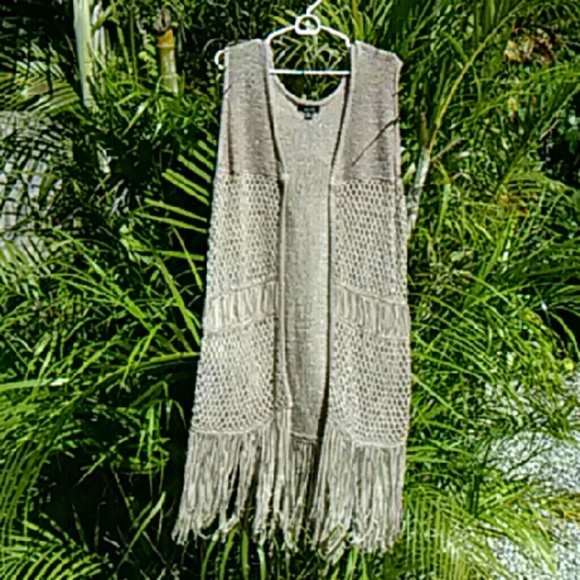 Alyx Accessories - Long Retro Fringe Vest NWOT One Size Fits All