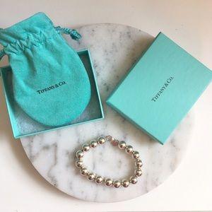 [Tiffany & Co.] sterling silver bead bracelet