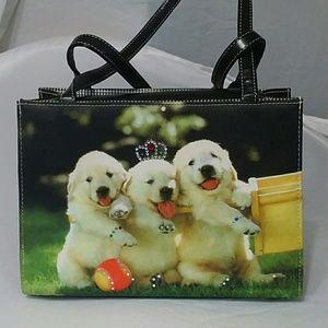 Adorable Puppy Purse w/Cellphone Case