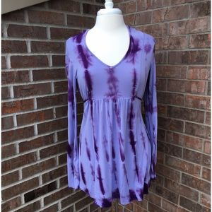 A Pea in the Pod Tops - ❗️FINAL PRICE❗️Tie-Dye Maternity Top