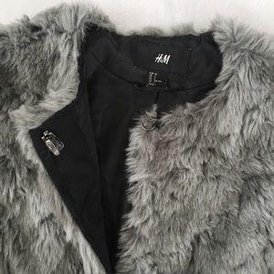H&M Jackets & Coats - H&M Faux Fur Coat