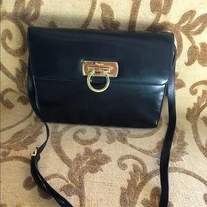 Ferragamo leather purse
