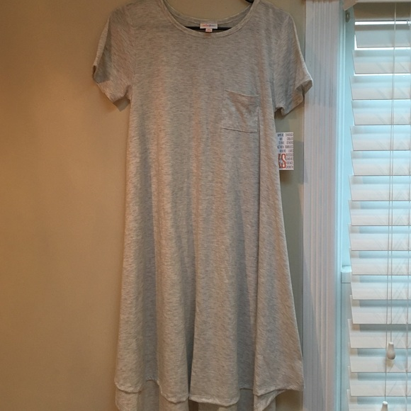 Lularoe Dresses Carly Tshirt Dress Poshmark