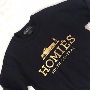 """Brian Lichtenberg Tops - Brian Lichtenberg """"Homies"""" Sweatshirt"""
