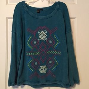 PacSun Sweaters - Tribal Pattern Pullover Sweater