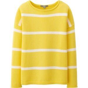 Uniqlo Sweaters - Uniqlo Middle Gauge Striped Sweater- Size L