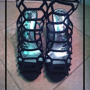Shoes - 🆕sexy cage gladiator heels🔥
