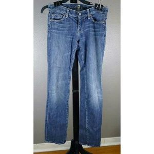 7 for all Mankind Straight legged jeans 26x32