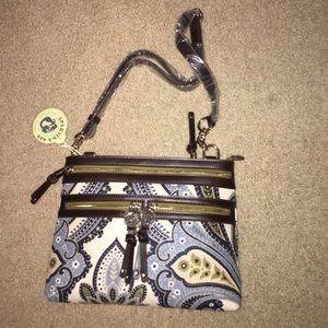 Spartina 449 Handbags - Spartina 449 Juliette Zipper Hipster