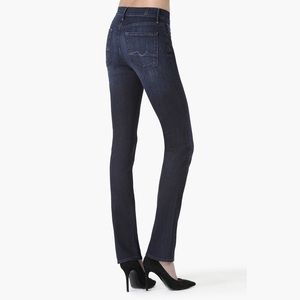 7 For All Mankind Denim - 7 for all mankind High Waist Straight Jeans, 24