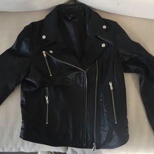dstld Jackets & Blazers - dstld leather jacket