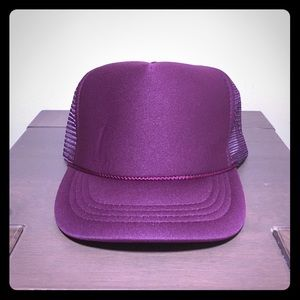 Other - Plain Trucker Hat Maroon OS