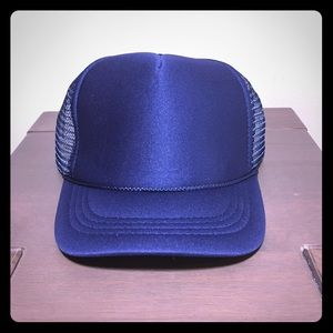Other - Plain Trucker Hat Blue OS