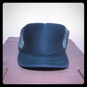 Other - Plain Trucker Hat Emerald Green OS