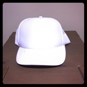 Other - Plain Trucker Hat White OS